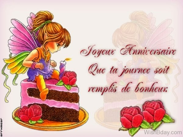 Happy Birthday French Birthday Image 1