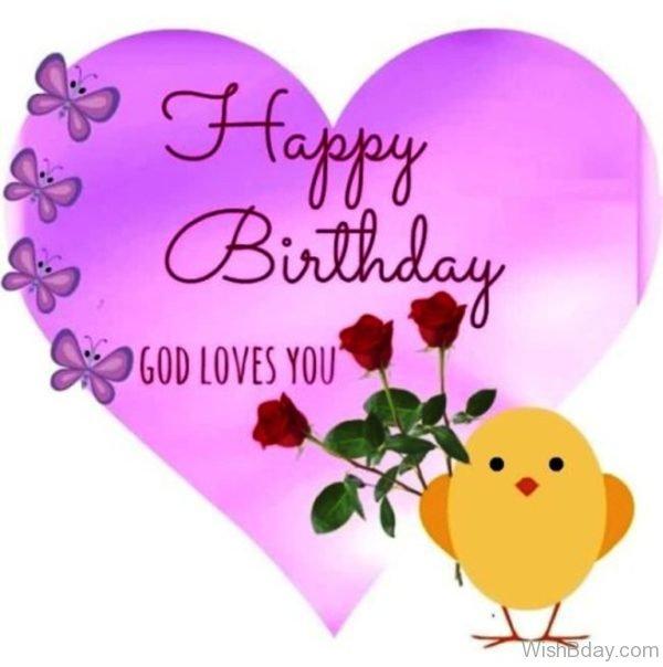 Happy Birthday God Loves You