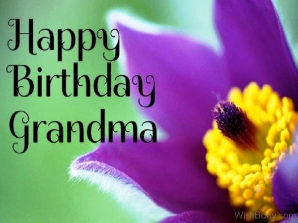 Happy Birthday Grandmother Wishes