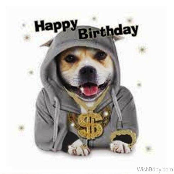 Happy Birthday Image With Dog