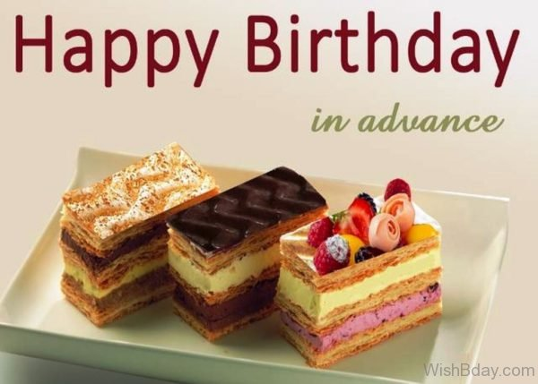 Happy Birthday In Advance Image 2