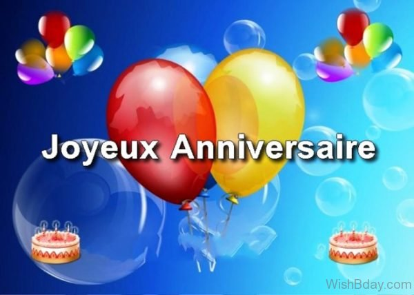 Happy Birthday In French Image 1