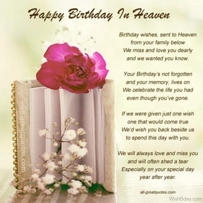 11 Birthday Wishes For Someone Heaven – 100th Birthday Greetings