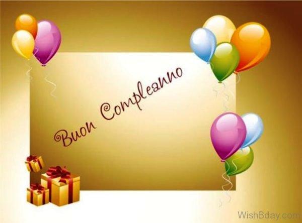 Happy Birthday In Italian Language