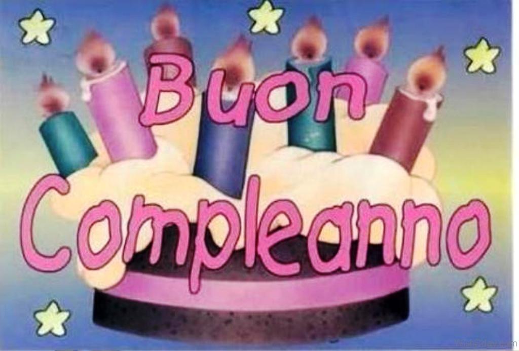 Поздравления на итальянском с днем рождения фото