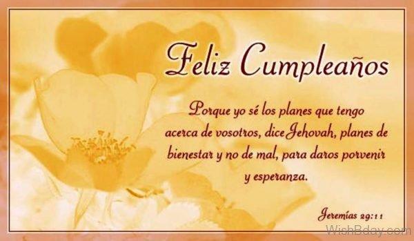 Happy Birthday In Spanish Image