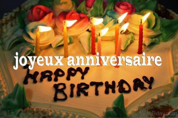Happy Birthday Joyeux Anniversaire 2