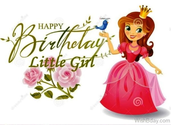 Happy Birthday Little Girl