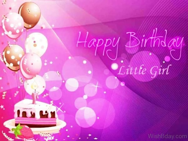 Happy Birthday Little Girl Dear