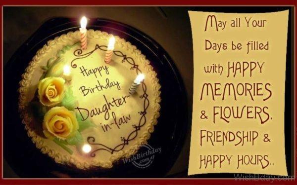Happy Birthday Loving Daughter in law 1