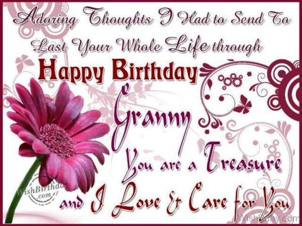 Happy Birthday Loving Grandma