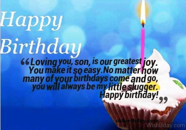 Happy Birthday Loving You Son 1