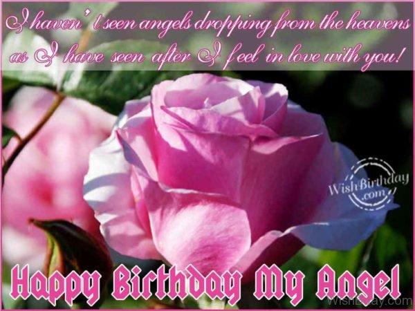 Happy Birthday My Angel 2