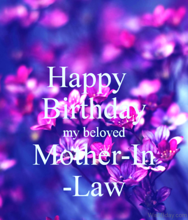 Happy Birthday My Beloved Mother In Law