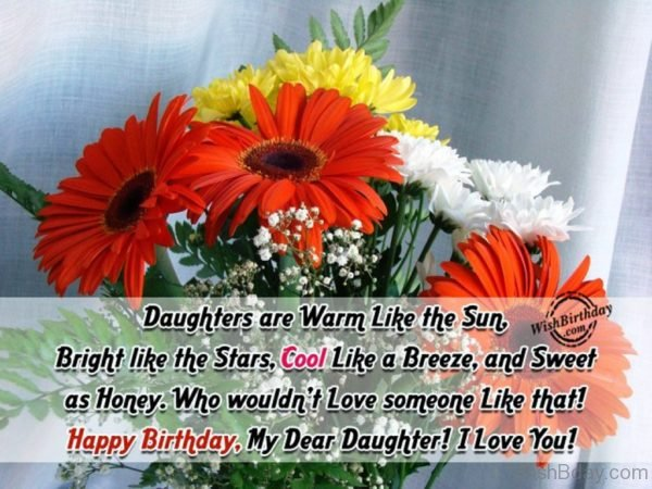 Happy Birthday My Dear Daughter
