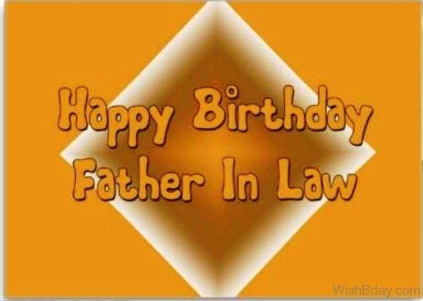 Happy Birthday My Dear Father In Law