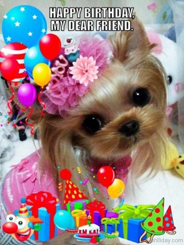 Happy Birthday My Dear Friend 2