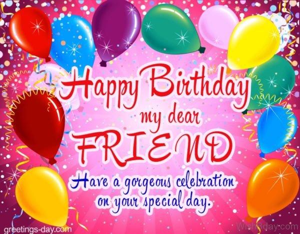 Happy Birthday My Dear Frined