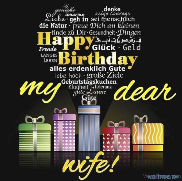 Happy Birthday My Dear Wife
