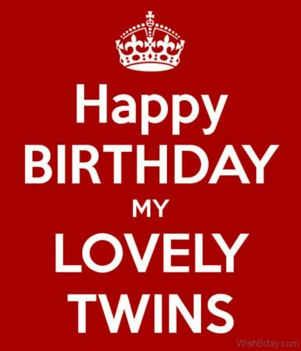 Happy Birthday My Lovely Twins