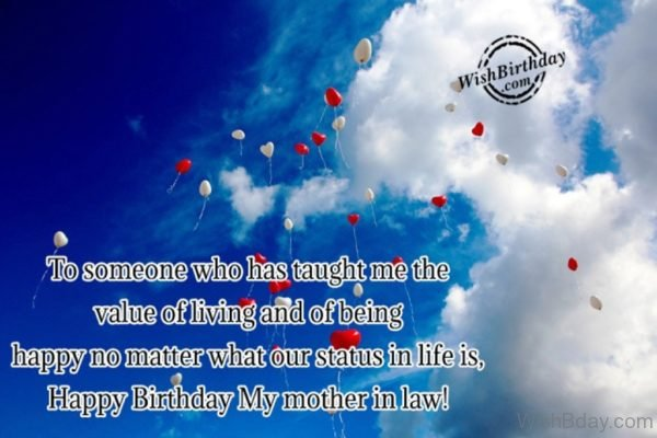 Happy Birthday My Mother In Law