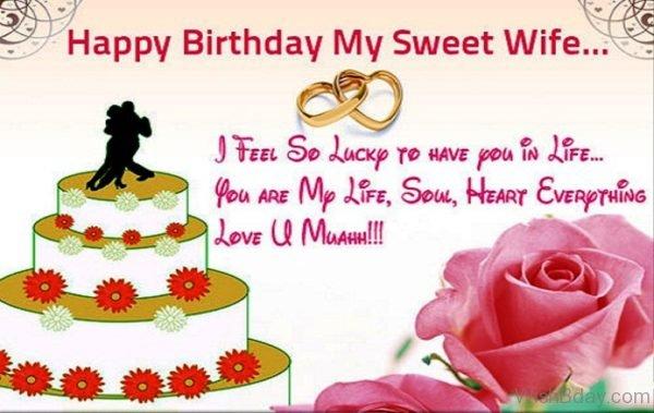 Happy Birthday My Sweet Wife