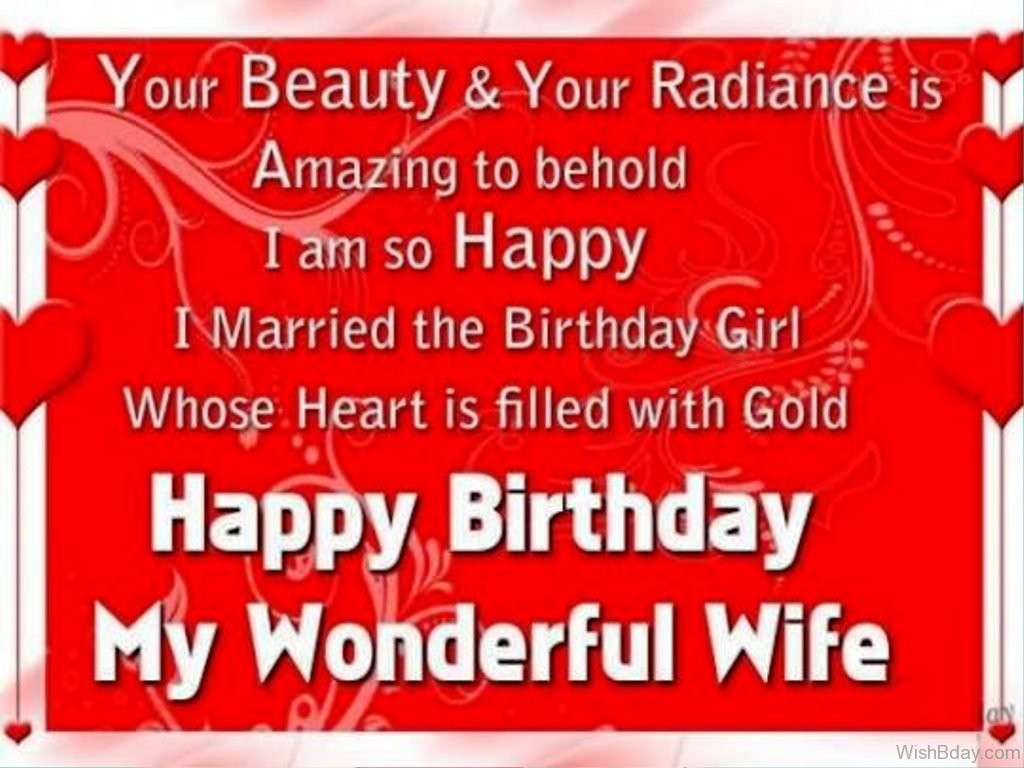 52 Birthday Wishes For Wife
