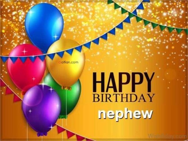 Happy Birthday Nephew Dear