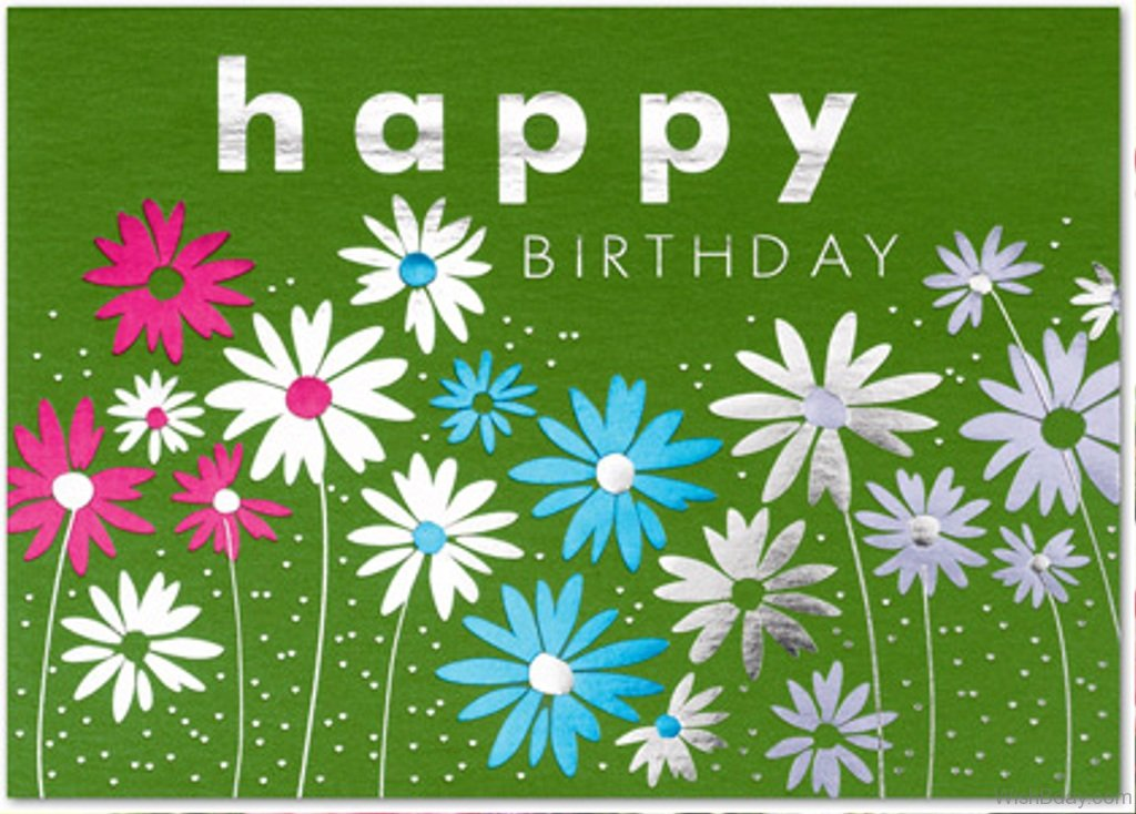 84 Birthday Wishes With Flowers – Birthday Greetings Flowers