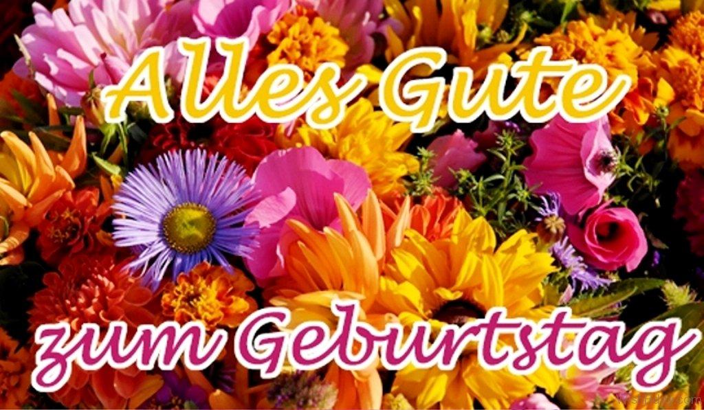Поздравления на немецком языке с днем рождения 65