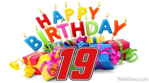 Happy Birthday Nineteen Wishes 2