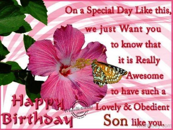Happy Birthday Obedient Son