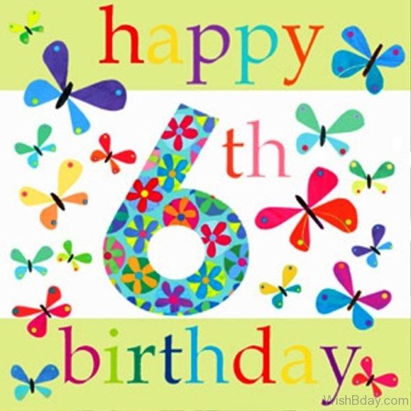 Happy Birthday Six Wishes