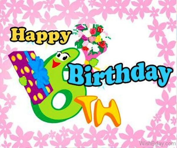 Happy Birthday Six Year Old Wishes Nice Image