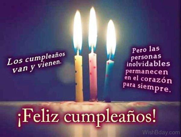 Happy Birthday Spanish Image