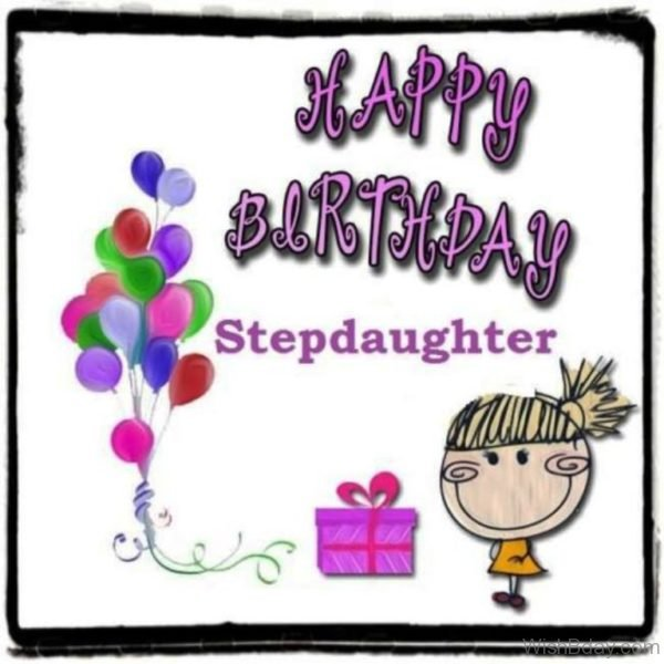 Happy Birthday Step Daughter Nice Image