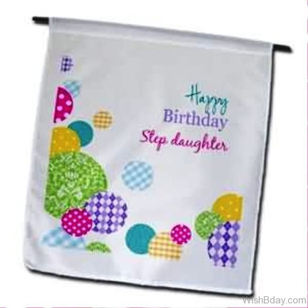 Happy Birthday Step Daughter Wishes Image