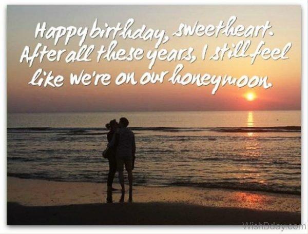 Happy Birthday Sweetheart 1