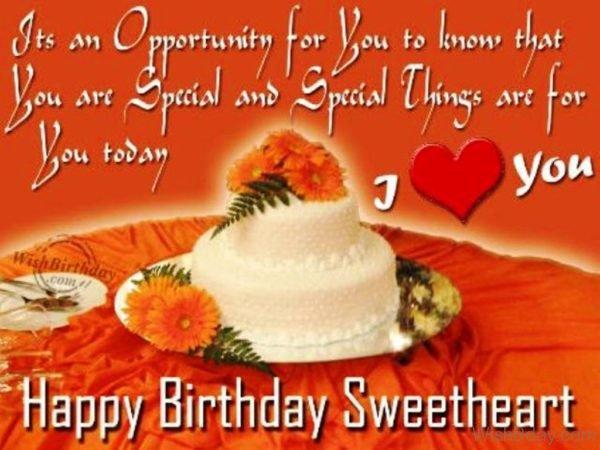 Happy Birthday Sweetheart 4