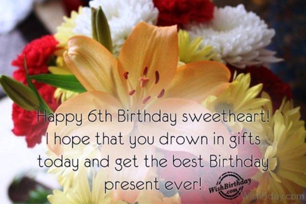 Happy Birthday Sweetheart 6