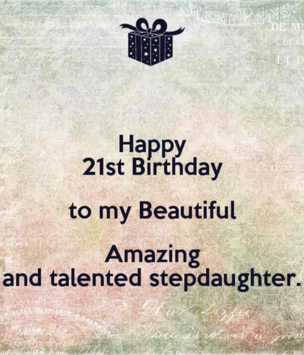 Happy Birthday TO My Beautiful Step Daughter