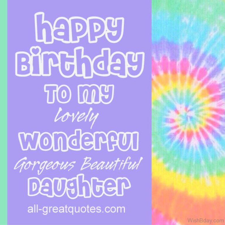 69 Birthday Wishes For Daughter