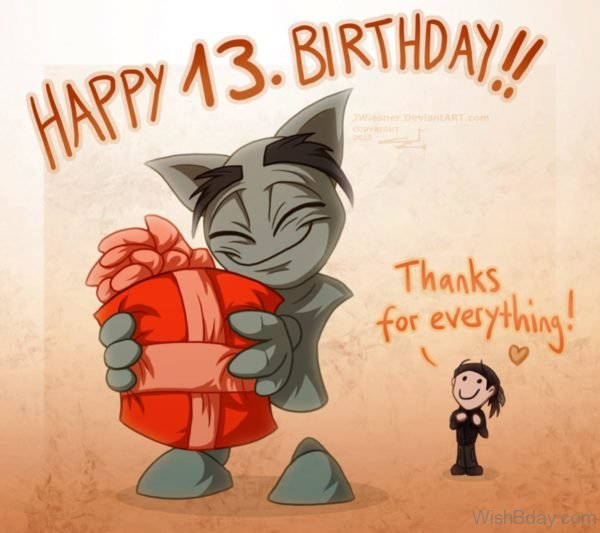 Happy Birthday Thanks Everything