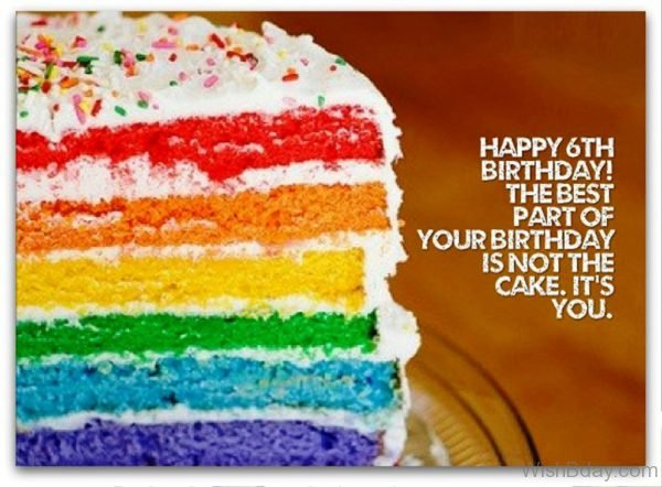 Happy Birthday The Best Part Of Your Biirthday Is Not The Cake