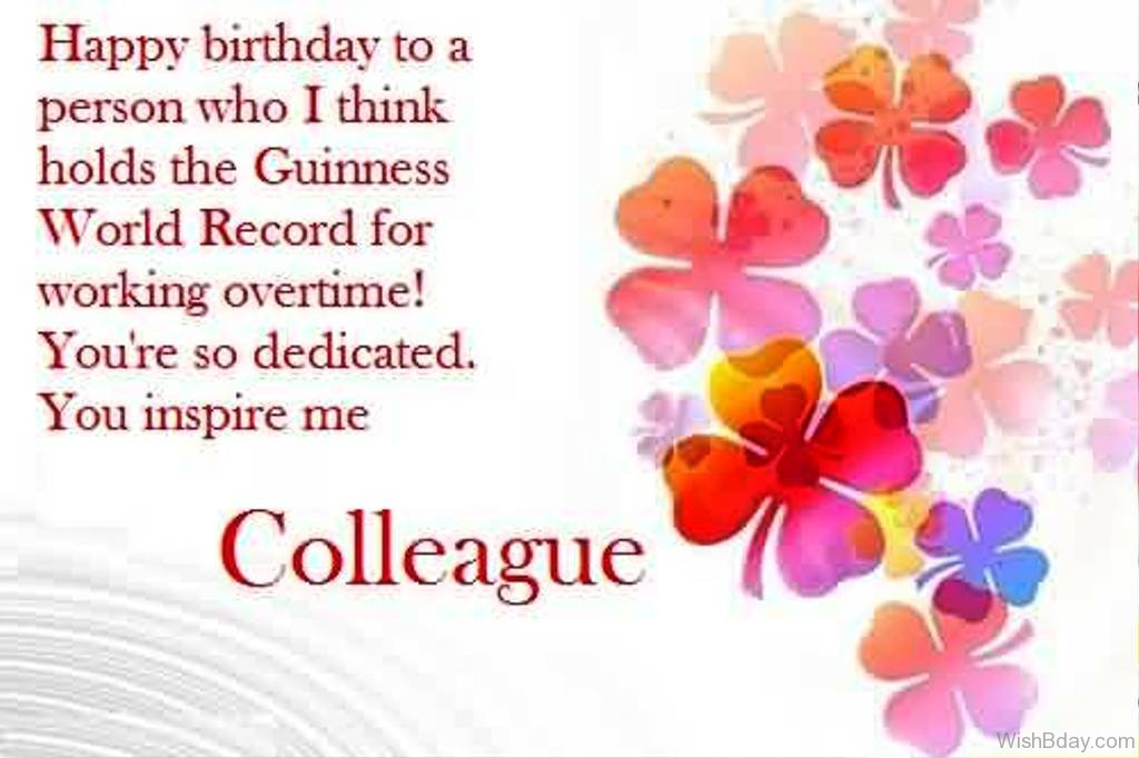 29 colleague birthday wishes happy birthday to a person m4hsunfo