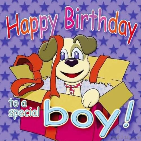 Happy Birthday To A Special Boy 1