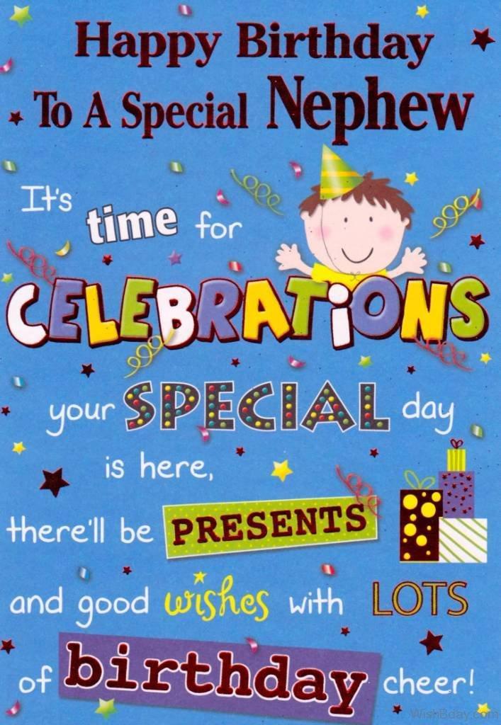 42 Birthday Wishes For Nephew