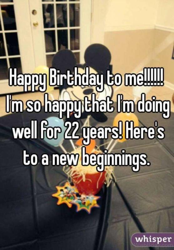 Happy Birthday To Me 6