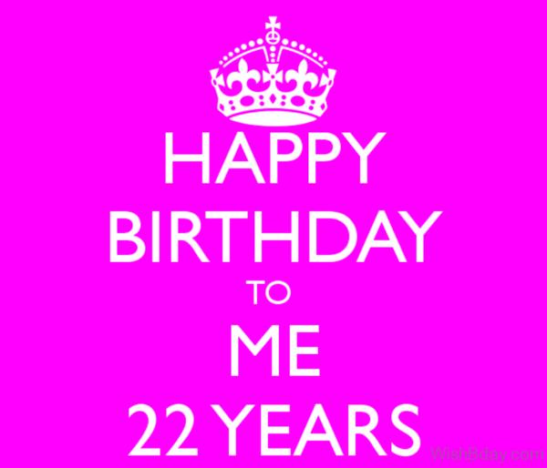 Happy Birthday To Me My Dear