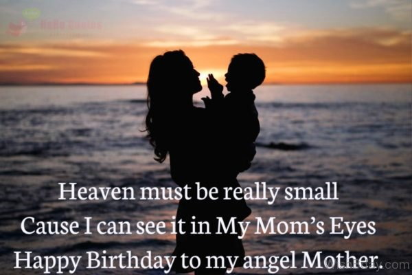 Happy Birthday To My Angel Mother 2